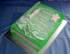 -- Comunion Cakes, Book Cakes, Love Craft, Psp, First Communion, Beautiful Cakes, Cake Designs, Christening, Baking