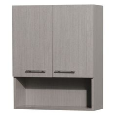 Wyndham Collection WCV207GO Centra 24-in. Wall Cabinet - WCV207GO