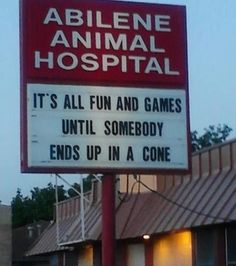 16 Hilarious Signs That Show Vets Have a Sense of Humor - We Love Cats and Kittens