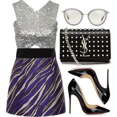How To Wear Tiger Stripes Outfit Idea 2017 - Fashion Trends Ready To Wear For Plus Size, Curvy Women Over 20, 30, 40, 50