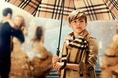 Excuse Us While We Watch Romeo Beckham in This Crazy Adorable Burberry Video ALL DAY