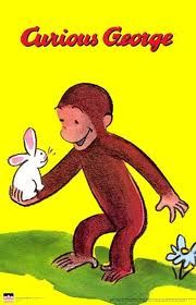 Curious George was one of my favorite series as a kid. George gets into mischief but the adults around always put things right by the end of the book.