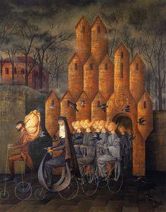 peira:    Remedios Varo: Hacia la Torre (1960)