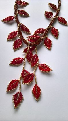 I uploaded by Ivona Suchmannova. No other details available - DIY Schmuck Beading Projects, Beading Tutorials, Beading Patterns, Bead Jewellery, Seed Bead Jewelry, Bead Embroidery Jewelry, Beaded Embroidery, Bead Crafts, Jewelry Crafts