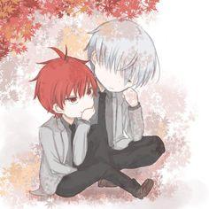 眺めてるのは紅葉か寝顔か