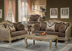 Traditional Living Room Furniture Style