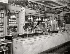 1920's washington d.c. Ice Cream Soda Jerk People's Drug