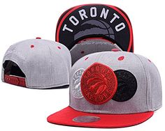best sneakers 20679 c168c Toronto Raptors NBA Fitted Hat Team Logo Grey Adjustable Hat   Want to know  more, click on the image.