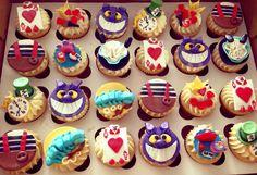 #Alice in #Wonderland #cupcakes