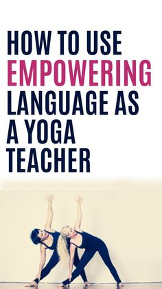 Whether we deserve it or not, we hold a place of power as teachers. And to step into that role with grace, we need to become mindful of everything we do. Most notably, we need to be mindful of our language when we teach. Yoga For Kids, Kid Yoga, Mudras, Yoga Philosophy, Yoga Music, Partner Yoga, Yoga Moves, Morning Yoga, Yoga Teacher Training