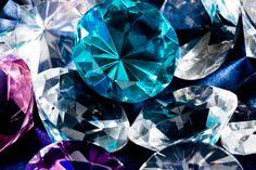 Stock Photo : Diamonds