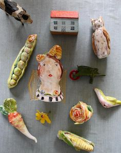 beekeeper's garden by Julie Whitmore Pottery, via Flickr