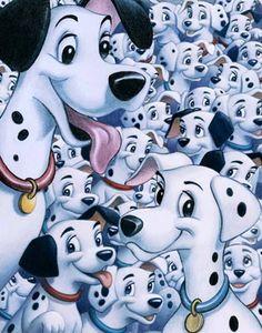 Disney Art on Main Street at Alexander's Fine Art - Smile: 101 Dalmatians