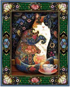 "Lewis T. Johnson ""Painted Cat"""