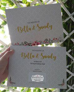 Wedding invitation Bella & Sandy Tanya-tanya atau info lebih lanjut hubungi : WA : 08561410064 Line : nikahgeh Desain bisa cek di http://bit.ly/2rnZvXk #weddingserang#undanganserang #infoserang #undanganminimalis #simpleinvitation #testinikahgeh #undanganpernikahanmurah #undangancantik #pesanundangan #invitationserang#kotaserang#undangancilegon #undanganpandeglang#undanganmurah #undanganpernikahan#undanganonline #undangankreatif#undanganunik#nikah #nikahgeh#desainundangan#undangancustom…