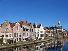 Dokkummer Ee ~ on the background Town Hall ~ Dokkum/Friesland (NL)