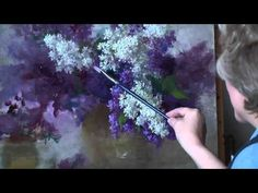Learn how to paint whimsical Reindeer with Acrylics on Canvas. Artist Angela Anderson shows step by step how to create this fun Christmas Canvas painting. Lilac Painting, Acrylic Painting Flowers, Acrylic Painting Techniques, Painting Videos, Painting Lessons, Painting & Drawing, Acrylic Art, Christmas Paintings On Canvas, Creation Art
