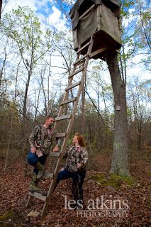The Hunt Is Over - Engagement Session Roanoke Rapids, NC | les atkins Photography