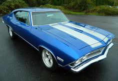 1968 Chevelle Maintenance/restoration of old/vintage vehicles: the material for new cogs/casters/gears/pads could be cast polyamide which I (Cast polyamide) can produce. My contact: tatjana.alic@windowslive.com