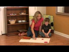 Montessori Math Lesson - Fractions