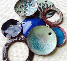 Have you tried torch fired enamels yet? Rings n Things show you how to get started. This tutorial guides you on all the safety equipment and supplies you will need. It really doesn't l… Enamel Jewelry, Nespresso, Creative Ideas, Repurposed, Innovation, Upcycle, Upcycling, Repurpose, Recycling
