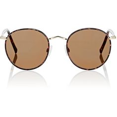 Moscot Men's Zev Sunglasses (1.100 BRL) ❤ liked on Polyvore featuring men's fashion, men's accessories, men's eyewear, men's sunglasses, brown, mens eyewear, mens sunglasses, mens tortoise shell sunglasses, mens brown sunglasses and mens round sunglasses