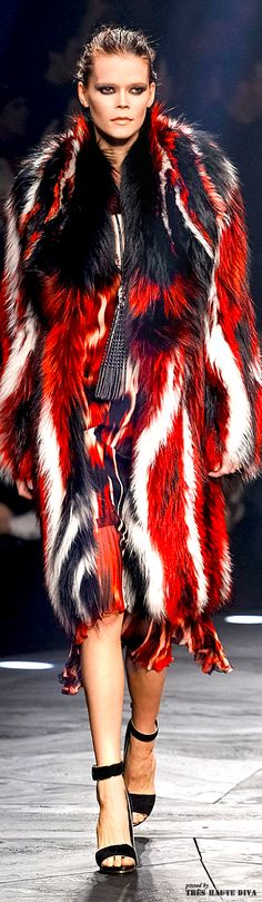 Milan Fashion Week Roberto #Cavalli Fall/Winter 2014 RTW #DecoArt24.pl #milanfashion