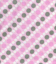 Pink & Gray Fabric