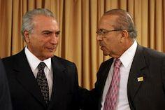 Michel Temer - Vice-Presidente do Brasil e Eliseu Padilha.