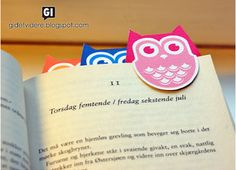 Bookmarks That You Can Print | How sweet are these little owl bookmarks? You can get the free ...