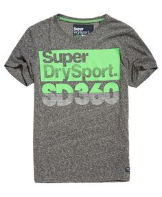Superdry T-shirt Sport SD 360 Speed Gris Clair