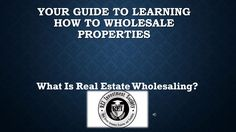 What Is Real Estate Wholesaling? How To Make Money?