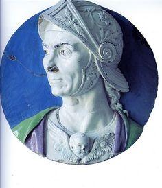 Andrea della Robbia - Condottiero Giosuè (1470)  #TuscanyAgriturismoGiratola