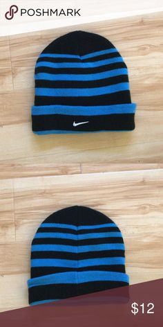 Shop Men s Nike Blue Black size OS Hats at a discounted price at Poshmark. e8a6c16815c8
