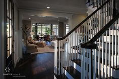 The foyer - and the living room - and the conservatory - at the Wellesley. What a view!