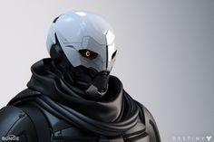 Destiny Helmet, Destiny Ii, Character Concept, Character Art, Concept Art, Character Design, Combat Armor, 3d Figures, Sci Fi Armor