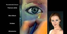 A beginners guide to drawing and painting an acrylic portrait - Layering...
