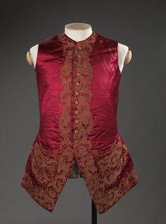 Waistcoat, 1750-70  From the Digitalt Museum