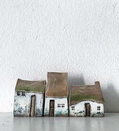Clay Houses, Ceramic Houses, Miniature Houses, Ceramic Clay, Ceramic Pottery, Wooden Houses, Cardboard Houses, Miniature Dolls, Doll Houses