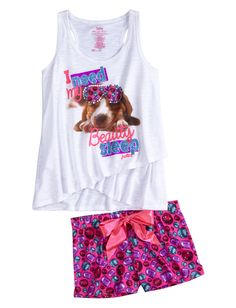 Find the latest in colorful and comfy sleepwear sets for girls at Justice! Shop cute pajamas in tons of fun prints and designs to match her individual style with our collection of sleepwear tops, bottoms, onesies and more. Cute Pjs, Cute Pajamas, Girls Pajamas, Kids Nightwear, Girls Sleepwear, Tween Fashion, Girl Fashion, Justice Pajamas, Kids Fashion