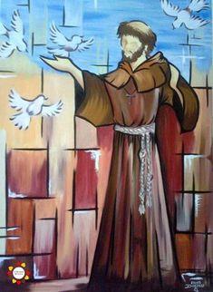 Catholic Art, Catholic Saints, Ste Claire, St Francisco, Activist Art, St Clare's, Christian Pictures, Francis Of Assisi, Arte Pop
