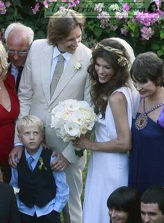 Milla-Jovovich-Wedding