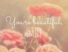 You're beautiful :)
