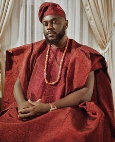 Men them! African Men Fashion, African Beauty, Mens Fashion, Fashion Trends, Agbada Styles, Beautiful Ankara Styles, African Wedding Attire, Yoruba Wedding, Groom Attire