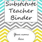 Free sub binder to edit as you please. You can change all text in the binder. ... AWESOME!!