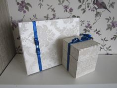 Wedding album and a gift box for choclate.