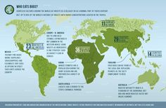 Do you eat bugs? A map of who eats bugs around the world.