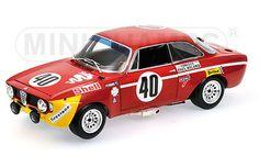 MINICHAMPS 100 711240 ALFA ROMEO GTA 1300 JUNIOR die cast model Picchi/Chassaeui Alfa Romeo, Gta, Models, Shopping, Miniatures, Fashion Models, Templates, Modeling