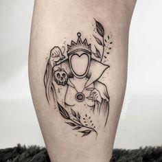 Tattoos on back Disney Tattoos, Disney Sleeve Tattoos, Mini Tattoos, Body Art Tattoos, Tatoos, Paar Tattoos, Neue Tattoos, Tattoo Life, Piercing Tattoo