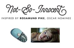 "Rosamund Pike // Gone Girl inspired mani ""Not-so Innocent"" #RCMAwardSeason #RCMNailIt #Oscars2015"